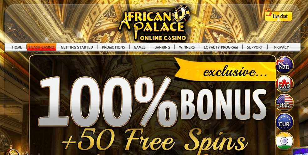 african palace casino home
