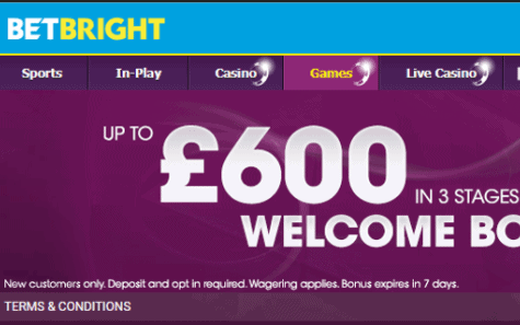 bet bright casino front image