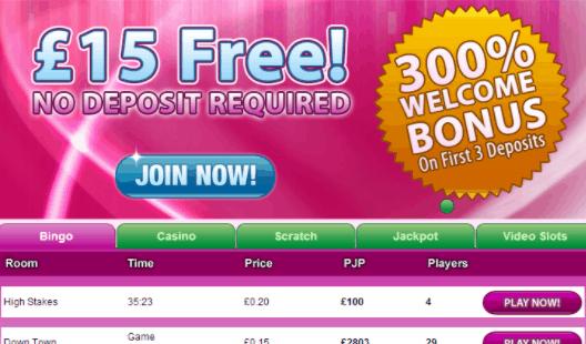 bingo magix front image