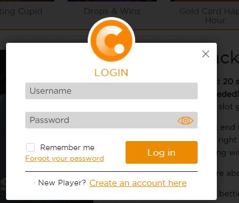 casino com login