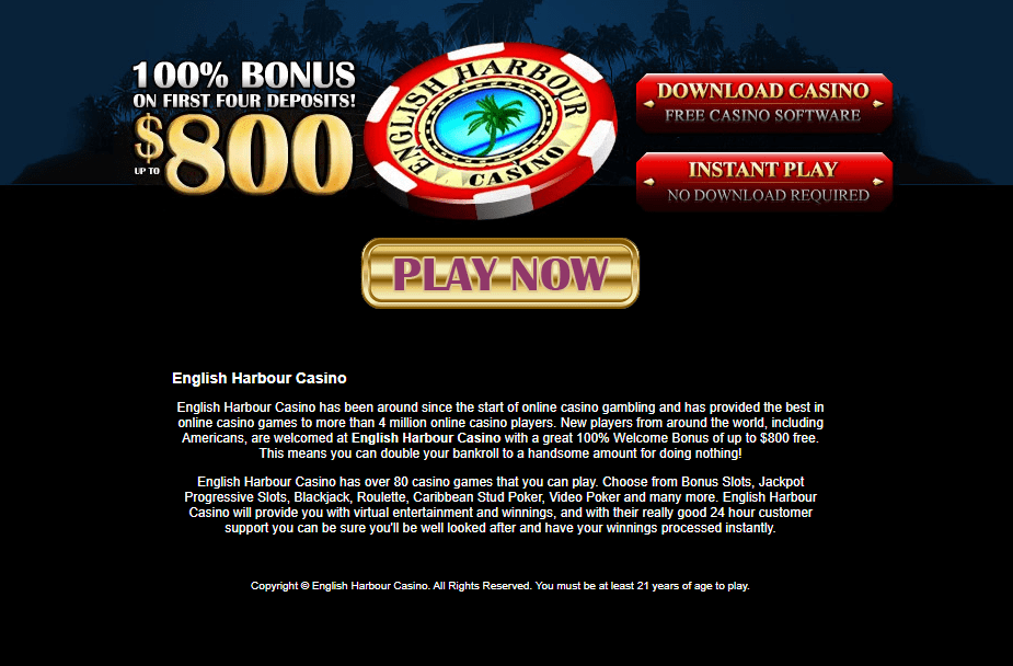 english harbour online casino home