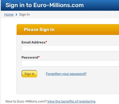 euro million login
