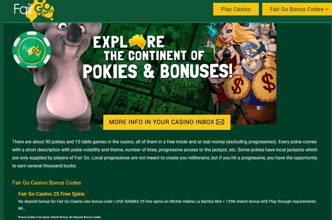 fair go casino promoitons
