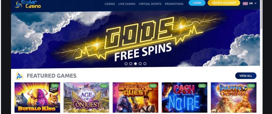 gudar casino games