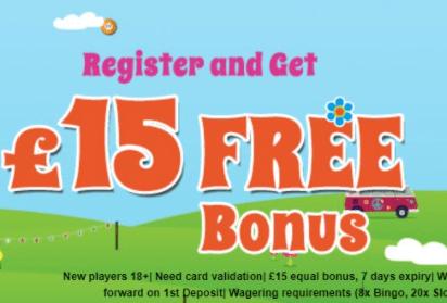 hippy bingo front image