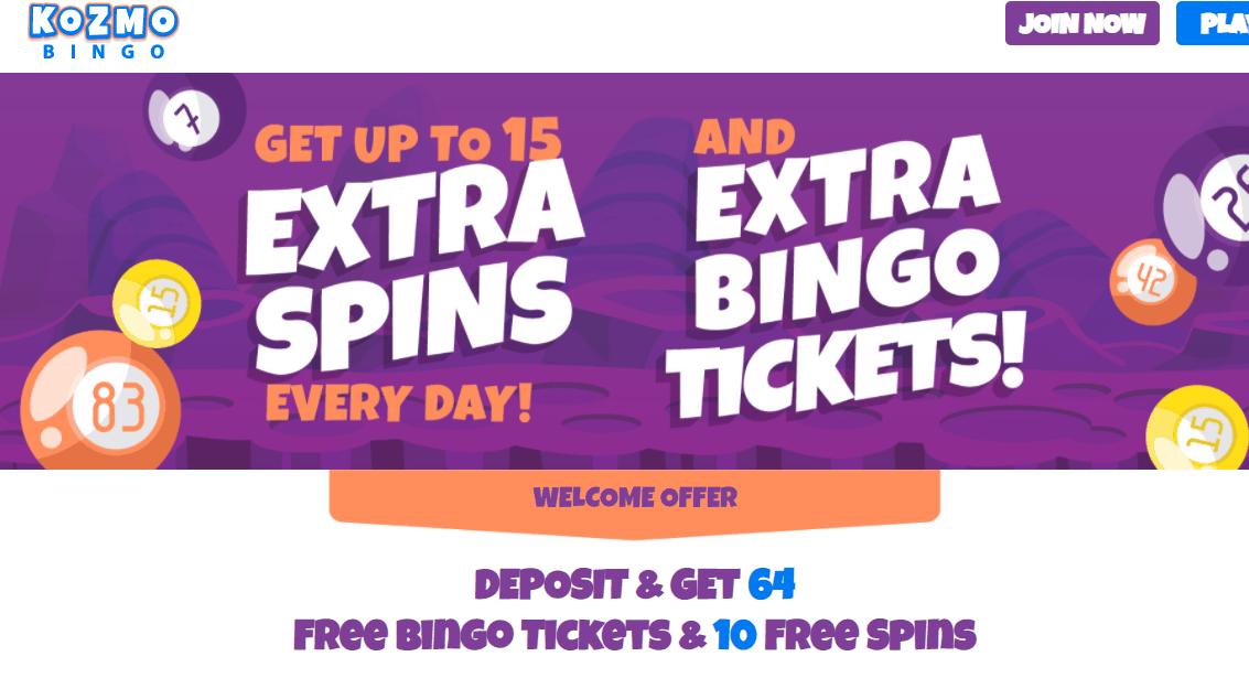 kosmo bingo promotions