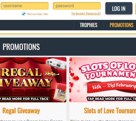 loot casino login