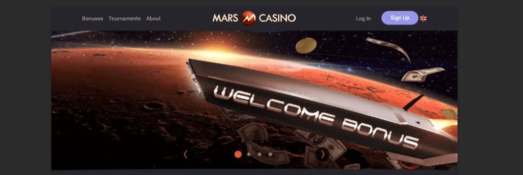 mars casino home