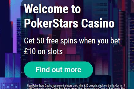 pokerstars casino front image