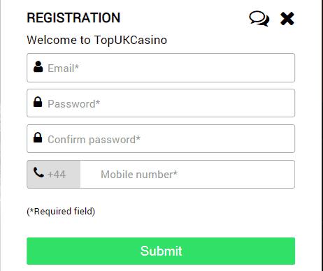 top uk casino sign up