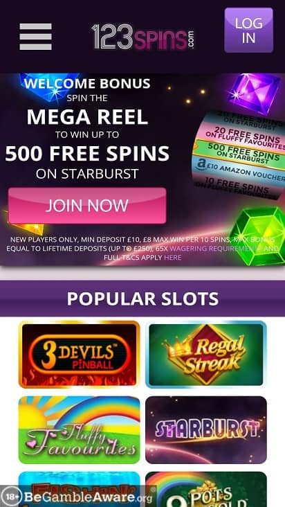 123-Spins Home Page
