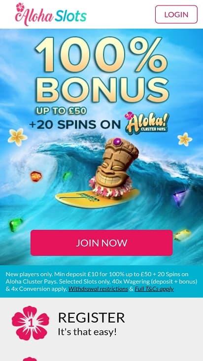 Aloha slots home page