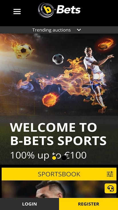 B-bets home page