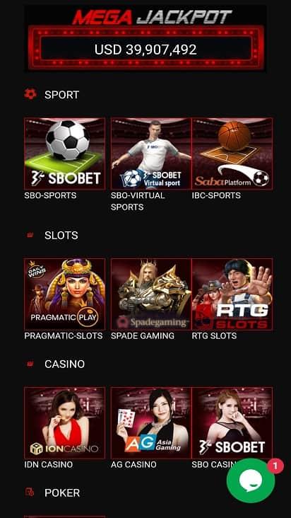 Big rock slots games page