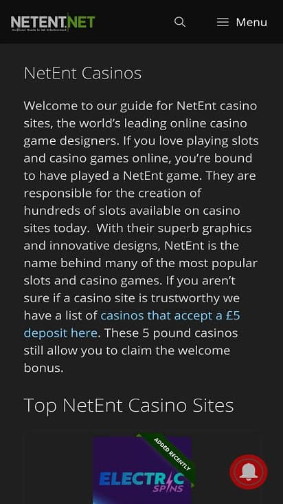 Big world casino home page