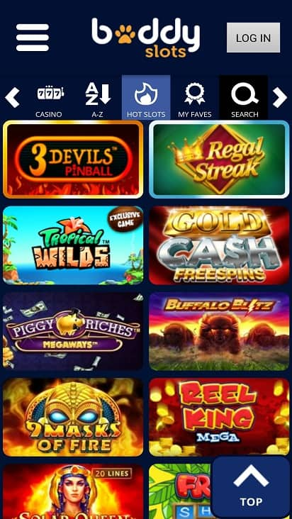 Buddy slots games page