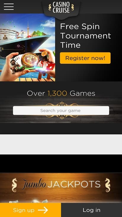 Casino cruise Home page
