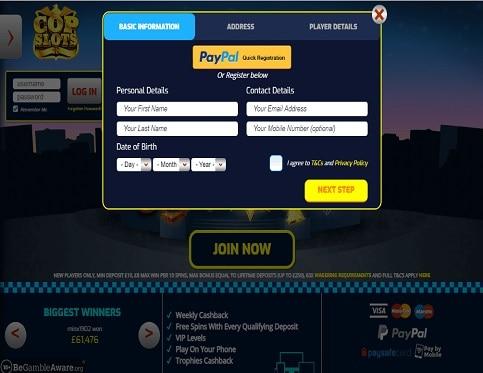 Cop-Slots-signup