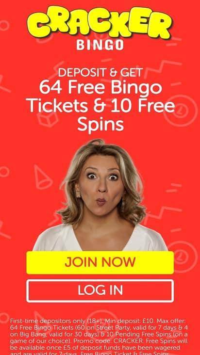 Cracker bingo home page