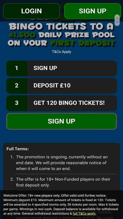 Crocodile bingo games page