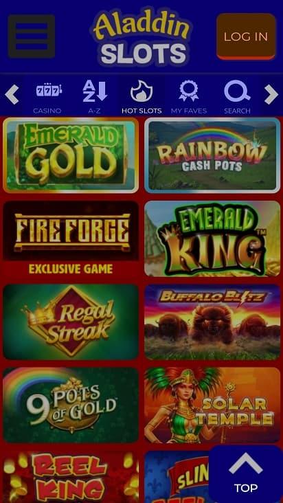 Dragon slots games page