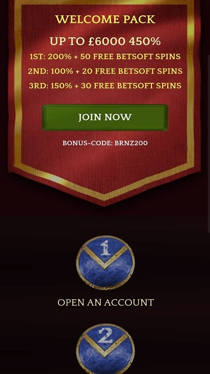 English harbour online casino promotions page