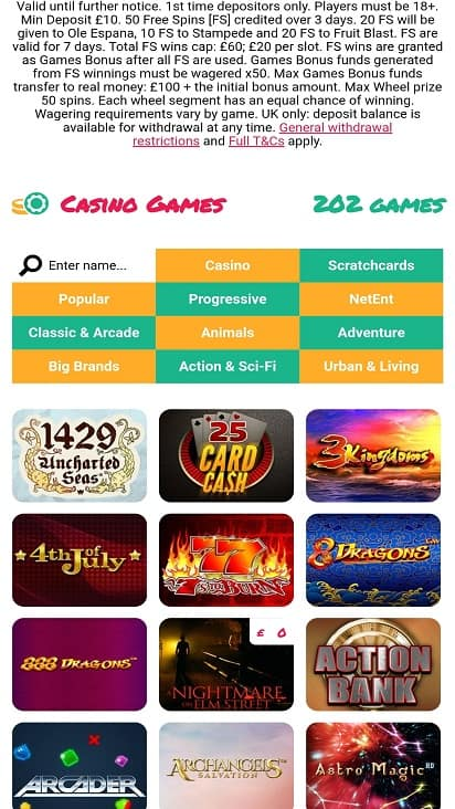 Fortune fiesta games page