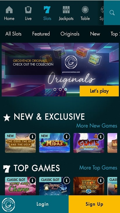 G casino poker home page