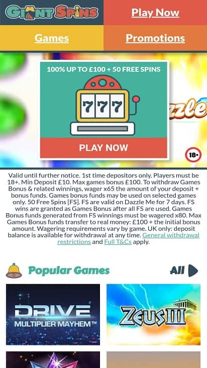 Giant spins home page