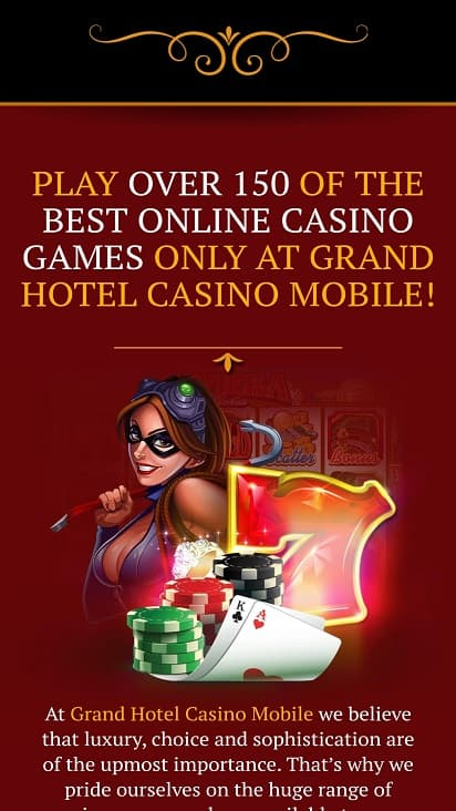 Grand hotel games page