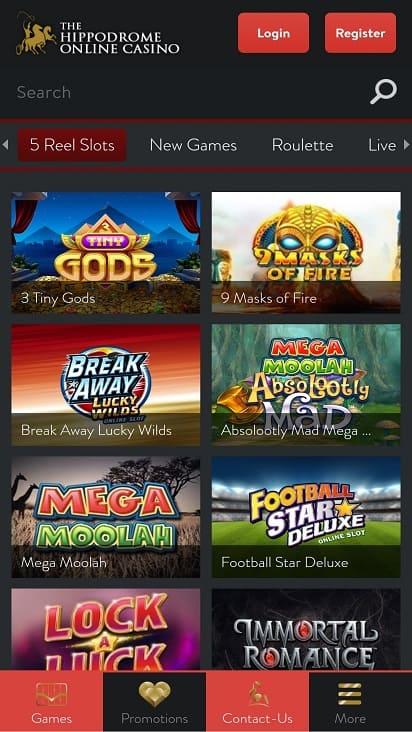 Hippo drome games page