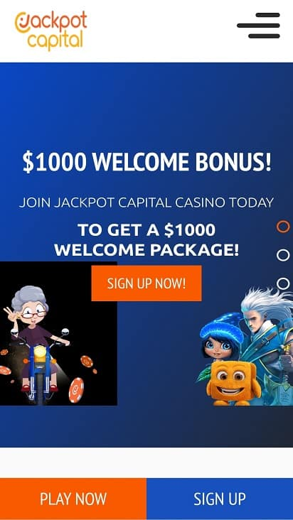 Jackpot capitol promotions page