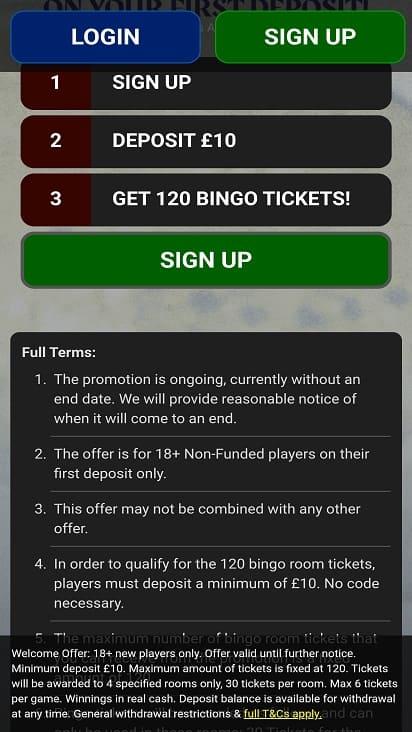 Kingdom of bingo games page