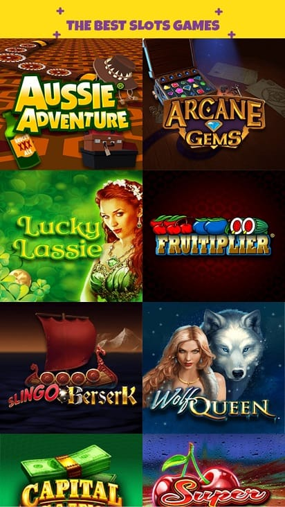 Kozmo casino games page