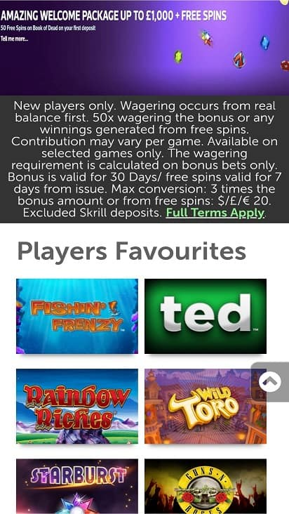 Mad about slots promotion slots