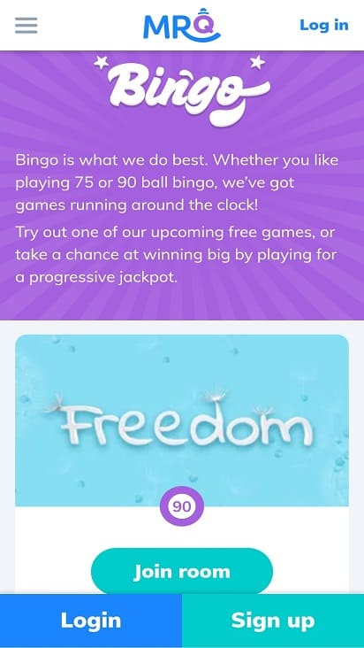 Mr q games page