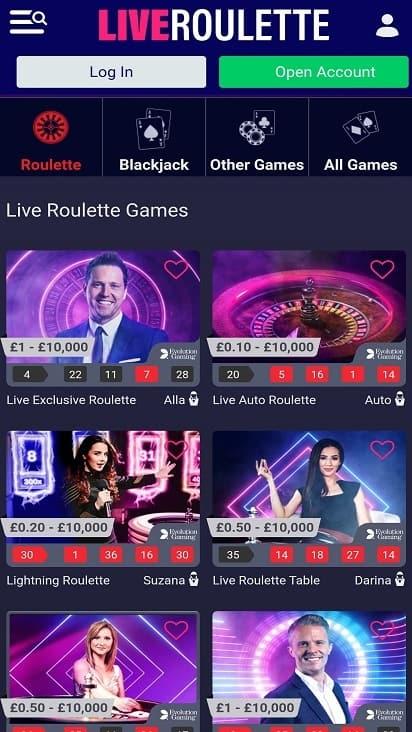 Mr smith casino games page