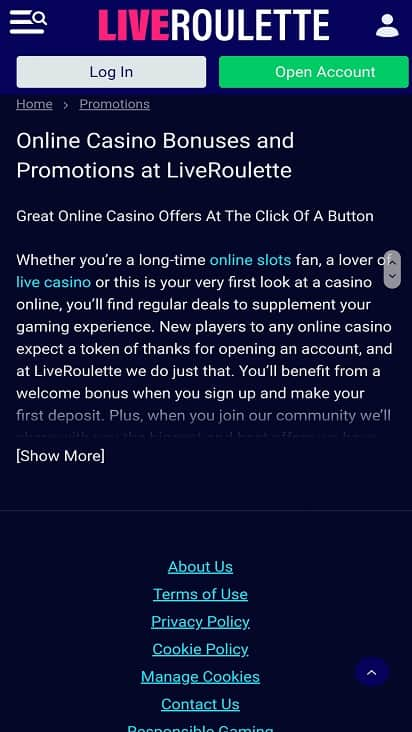 Mr smith casino promotion page