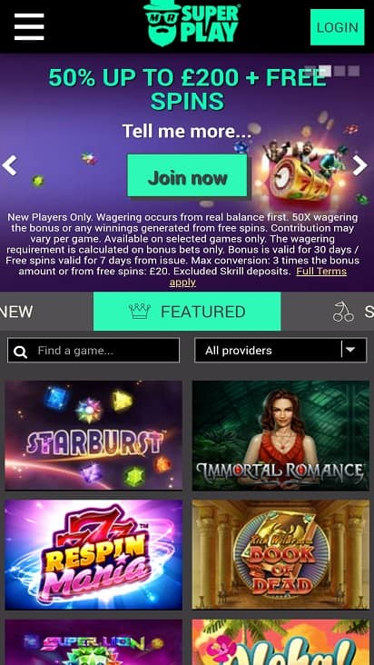 Mr superplay home page