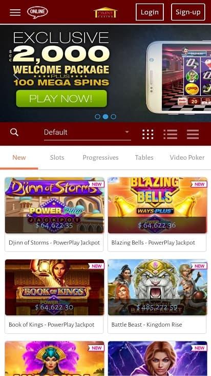 Omni casino home page