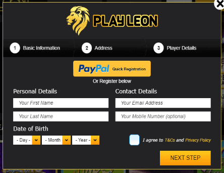 Play-Leon-signup