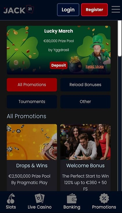 Play pcf home page