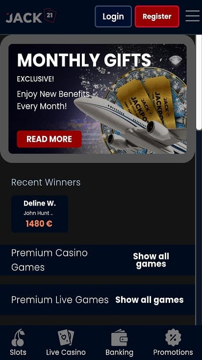 Play pcf promotions page