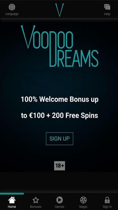 Voodoo dreams home page