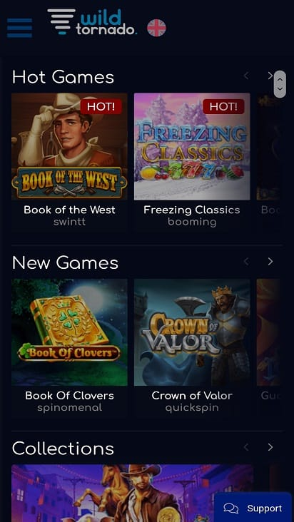 Wild tornado games page