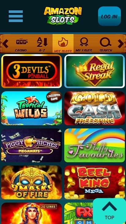 amazon slots games page