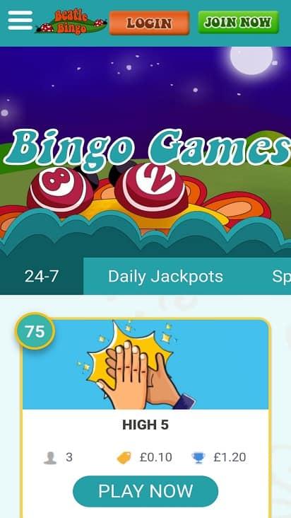 beatle bingo games bingo