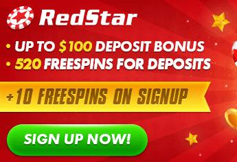 redstar casino front image