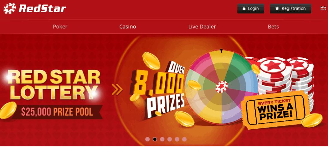 redstar casino home