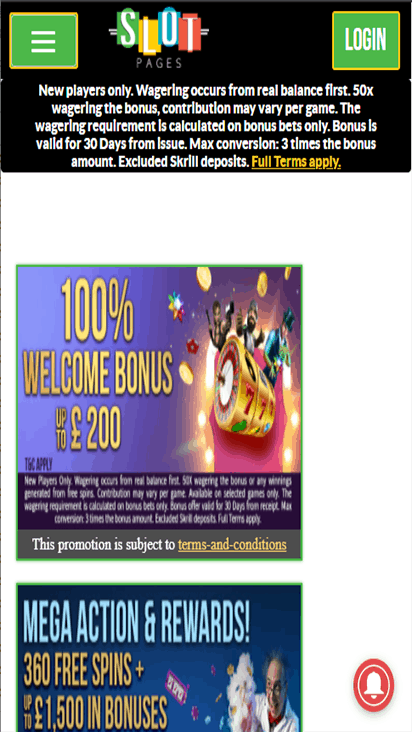 slotpages promo